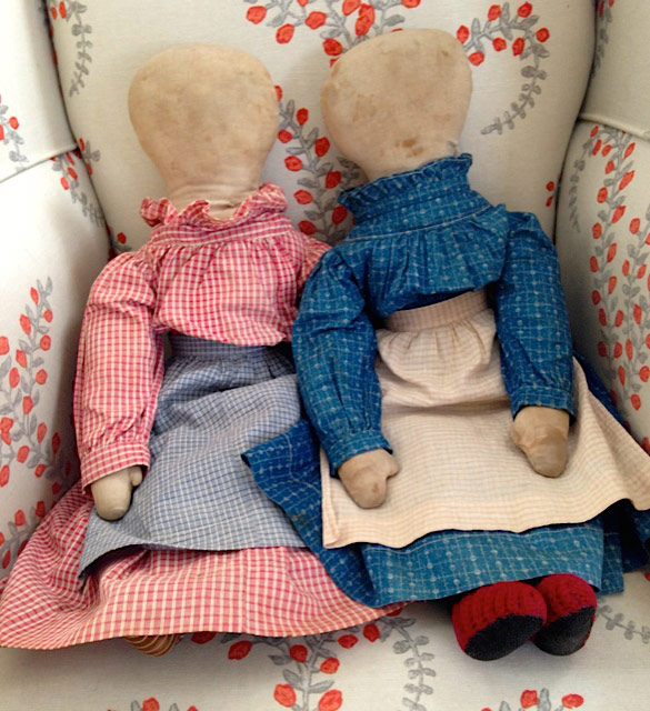 Kathy Schoemer Antiques - Cloth Dolls