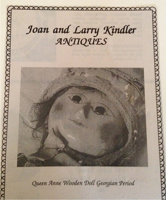 Joan and Larry Kindler Antiques Ad